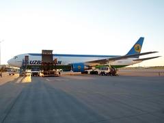 Uzbekistan B-767-300ER (antallajos) Tags: munich airfrance klm uzbekistan airbus boeing ellinair condor germania transavia b767 b737700 b737800 a320 a319 mnchen
