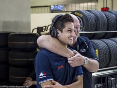 2015 Abu Dhabi GP: Mitch Evans (8w6thgear) Tags: 2015 abudhabi grandprix paddock portrait racingdriver mitchevans pitlane night
