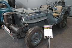 Willys Jeep (1944) with wood carburetor / Holzvergaser (Mc Steff) Tags: willys jeep mb 1944 woodcarburetor holzvergaser retroclassicsmessestuttgart2016 us army usarmy