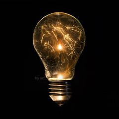 ..incandescent light bulb.. (Antonio Iacobelli (Jacobson-2012)) Tags: idee ideas bulb light led nikon d800 nikkor 105mm bari streamers incandescent fireworks