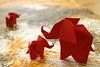 Elephant (Fumiaki Kawahata) (De Rode Olifant) Tags: kawahata 3d elephant origami fumiakikawahata marjansmeijsters paper paperfolding diagrams tutorial tanteidan origamielephant