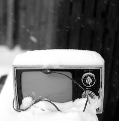 TV Snow1 (Joe Vitessa) Tags: 120 fuji 66 rodinal 1100 acros 80mm v500 norita noritar