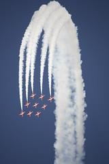 DSC_0005 (Nikon/Will) Tags: show red air arrows southport redarrows