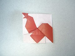 Rooster - Tuan Nguyen Tu (Rui.Roda) Tags: origami rooster tu papiroflexia tuan nguyen coq galo papierfalten ttsan