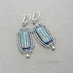 Rayas II (Taniri) Tags: jewellery earrings sterlingsilver calsilica