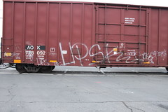 UPSK (The Streets Live) Tags: train graffiti freight upsk