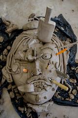 High School Projects (severalsnakes) Tags: portrait sculpture face project student funny ceramics pentax group highschool clay missouri m42 sfcc ks2 sedalia screwmount statefaircommunitycollege promaster2428 saraspaedy