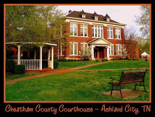 For Sale: TN Courthouse Postcard Collection: Cheatham