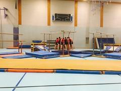 2015 Freiämtercup in Villmergen. Doppelfreiämtermeister Barren & GK. 2x 3. Rang Team Aerobic & Schulstufenbarren