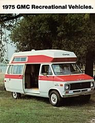 1975 GMC Recreational Vehicles (Canada) (aldenjewell) Tags: 1975 gmc recreational vehicles motorhome canada brochure vandura curtis