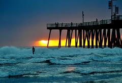 DSC_2766 (Eleu Tabares) Tags: california sunset sea clouds sunrise surf surfer pacificocean pismobeach