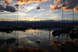 Sunset in Portalban