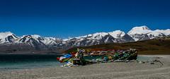 Flutterings (njain73) Tags: altitude blue buddhism himalayas hindu mansarovar mountains mountainscape naturallight snow tibet water wide