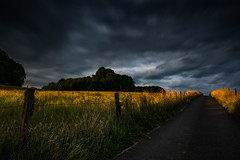 Last sunlight (henrik_thiele) Tags: sunset sunlight clouds dark landscape golden long exposure landschaft langzeitbelichtung