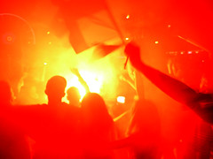 Marseille - Euro 2016 (only lines) Tags: red france sport football marseille celebrations flare crown journalism supporters euro2016