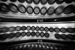 (218/366) Eye (CarusoPhoto) Tags: hipstamatic penny aristotle art blackandwhite bw fashion monochromatic makeup make up cosmetic cosmetics eye eyes photo day project 365 366 john caruso carusophoto