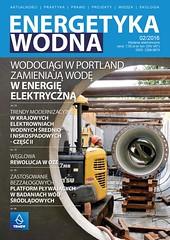 Okadka EW 02-2016 (Czasopismo Energetyka Wodna) Tags: magazine power small polish development association hydroelectric hydropower wodna energetyka maych towarzystwo wodnych elektrowni rozwoju trmew