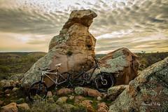 eagle_rock_flinders_rangers_mtb_2016 (terencemay11) Tags: sunset bike landscape mountainbike mtb southaustralia flinders magichour singletrack flinderrangers