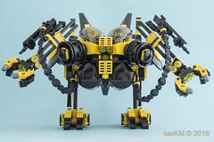 tkm-STILTwalker-11 (tankm) Tags: lego moc stilt walker mech