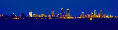 Panoramic view of the skyline of Jacksonville, Florida, U.S.A.  / The River City by the Sea (Lago Tanganyika) Tags: longexposure building skyline skyscraper cosmopolitan downtown realestate metro florida panoramic highrise jacksonville metropolis residential metropolitan density centralbusinessdistrict jorgemolina nikond7100 rivercitybythesea usacityscape