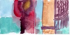 als die Nacht gekommen war, wunderte sie sich, wohin sich all das Licht davon gestohlen hatte (raumoberbayern) Tags: auto city pink winter dog bus fall smart car pencil paper munich mnchen landscape herbst tram sketchbook hund stadt papier landschaft bleistift robbbilder skizzenbuch strasenbahn
