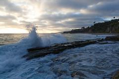 B03A3058_DxO (Estebahn De Peschruse) Tags: ocean california sunset sea beach sand surf pacific surfing cave lagunabeach 1000stepsbeach canon5dmarkiii thousandstepsbeach