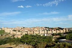 Vista de las murallas de vila (rube_sacrrtan123) Tags: paisaje vista avila murallas