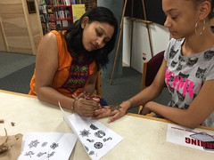 Henna  Tattoo4 (mcllibrary) Tags: ewing branch youth services event