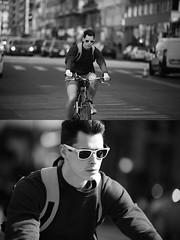 [La Mia Citt][Pedala] (Urca) Tags: milano italia 2016 bicicletta pedalare ciclista ritrattostradale portrait dittico bike bicycle nikondigitale mir biancoenero blackandwhite bn bw 872173