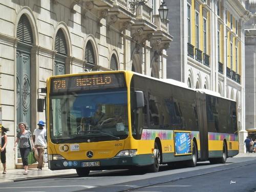 Mercedes Citaro 4610 de Carris Lisboa