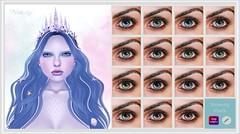 MESANGE - Iemanja Eyes (~ MESANGE ~) Tags: secondlife sl mesh eyes omega genesis cosmetics appliers fantasy roleplay unisex male female cute kawaii spirit goddess orixa