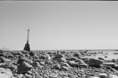 001566650014 (putjka) Tags: kiev4 analog film filmphotography kodak tmax100 bw retro lighthouse kurmrags latvia