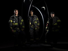 KFD at Krutch Park (TNrick) Tags: portrait firefighter fireman lowkey streaklight360 composite krutchpark knoxville tennessee easttennessee