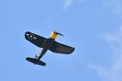 Corsair (JerryGoulet) Tags: farnboroughairshow expression england nikon d500 corsair plane old vintage light sky
