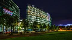 Office Building (K.H.Reichert) Tags: berlin night nighshot architektur nightshot potsdamerplatz sonycenterberlin architectur architecture officebuilding beleuchtung urban nachtfoto