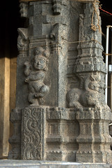 Dancing Baby - Krishna (VinayakH) Tags: temple jalakandeswarartemple tamilnadu vellore india hindu religious shiva vijayanagaraempire