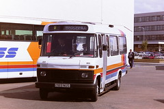 STAGECOACH WESTERN SCOTTISH 223 D123NUS (bobbyblack51) Tags: stagecoach western scottish 223 d123nus mercedes benz 608d alexander am kelvin 1123 ayr bus station 1995 all types of transport