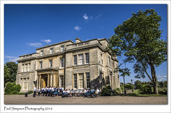 Salvation Army at Normanby Hall (Paul Simpson Photography) Tags: sonya77 sunshine summer august2016 salvationarmy salvationarmyband normanbyhall scunthorpe imagesof imageof paulsimpsonphotography photoof photosof tree bluesky band songsters singers religion religious music salvationarmyscunthorpe