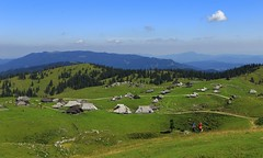 Shepherds huts _MG_0096m(2) (maxo1965) Tags: velika planina plateau kamnik alps slovenia hiking shepherds huts