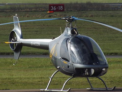 G-HCEN Guimbal G2 Helicopter Helicenter Aviation Ltd (Aircaft @ Gloucestershire Airport By James) Tags: gloucestershire airport ghcen guimbal g2 helicopter helicenter aviation ltd egbj james lloyds