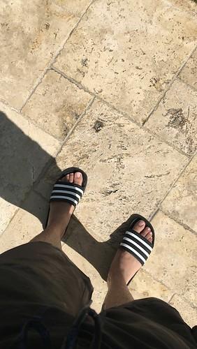 fetish Gay flip flop