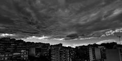Greece-Thessaloniki (Dimitris Georgitzikis) Tags: thessaloniki clouds sky cloudceiling cityskyline blackandwhite macedoniagreece macedonian makedonia timeless