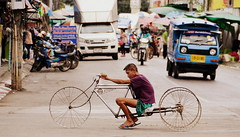 Tour de vlo (AlbinMarffy) Tags: road trip thailande voyage vlo bike city bangkok