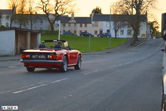 TRIUMPH TR-6 CONVERTIBLE Eagleshame 2015 (seifracing) Tags: cars scotland europe convertible vehicles triumph emergency spotting services tr6 strathclyde ecosse 2015 seifracing eagleshame
