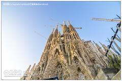 (La Sagrada Famlia)@(Barcelona) (Akinori Li) Tags: barcelona spain  antonigaud    lasagradafamlia