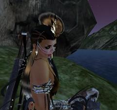 Feeling a Part (TierNLae) Tags: world life woman sexy art water beauty fashion female landscape avatar attitude fantasy secondlife virtual second imagination ccc prehistoric dinosaure lumipro