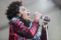 Galactic Featuring Macy Gray at Jazz Fest 2015, Day 5, May 1
