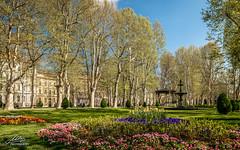 Zrinjevac - Zagreb (Milan Z81) Tags: park flowers fountain spring europe croatia zagreb fontana hrvatska proljee cvijee zrinjevac milanz81
