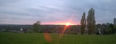 Panoramic Sunset In Seacroft Leeds. No (03) West Yorkshire , England , UK (Columbiantony Photography) Tags: city uk sunset england panorama west beautiful amazing cityscape yorkshire horizon great leeds cityscapes sunsets panoramic westyorkshire horizons ls14 gipton leeds14 columbiantony columbiantonyleeds
