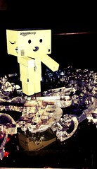 Falling to pieces (karmenbizet73) Tags: toys photography flickr pieces toystory puzzle friday fallout photooftheday eyespy danbo 154365 danboard photodevelopment danbolove toysunderthebed 2015365photos